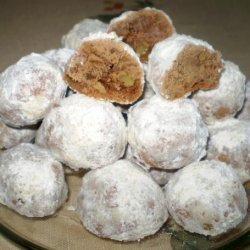 Chocolate Snowball Cookies - Christmas recipe
