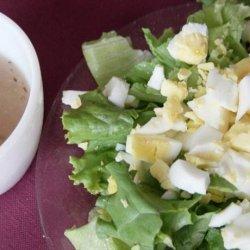 La Salade Cote Cap Verte ( Chopped Egg Salad)
