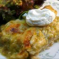 Chicken Enchiladas Verdes recipe
