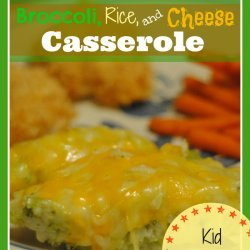 Broccoli Cheese & Rice Casserole