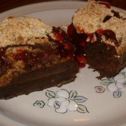 Brownie Cherry Cobbler