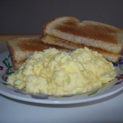 Best Darned Scrambled Eggs Ever!