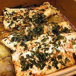 Moroccan Fish and Potatoes recipe