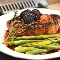 Pork Medallions With Blackberry Sauce