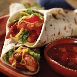 California Chicken Salad Tacos recipe