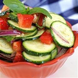 Baby Zucchini Salad