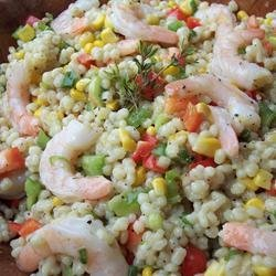 Barley, Shrimp, and Corn Salad