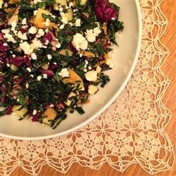 Kale and Feta Salad recipe
