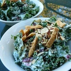 Creamy Kale Salad recipe