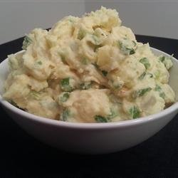 Sweet Potato-White Potato Salad