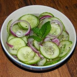 Sweet and Tangy Thai Cucumber Salad