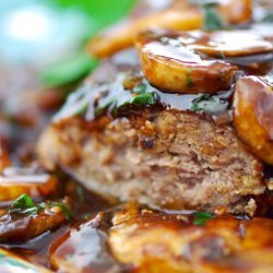 Salisbury Steaks with Mushroom-Wine Sauce