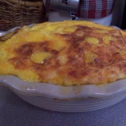 Impossible Macaroni and Cheese Pie recipe