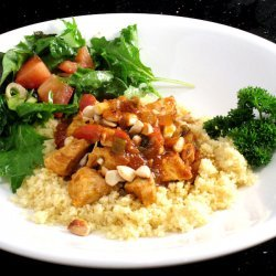 Chicken With Salsa and Couscous