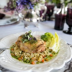 Vegetable Chicken Couscous