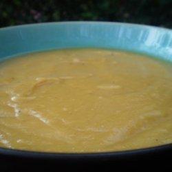 Yellow Split Pea Soup--Vegetarian/Vegan
