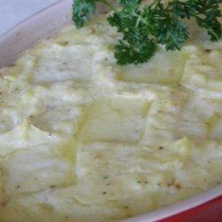 Jolean's Cheesy Mashed Potatoes