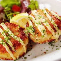 Curried Crab Cakes
