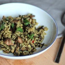 Mushroom Wild Rice Pilaf