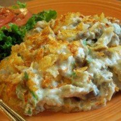 Leftover Turkey or Chicken Casserole