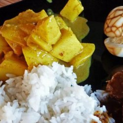 Pineapple or Apple Coconut Curry