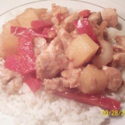 Sweet and Sour Pineapple Chicken recipe