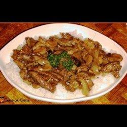 Crock Pot Mushroom & Steak Dinner for Two
