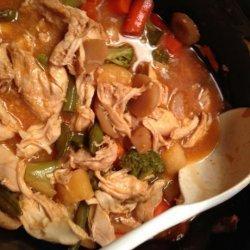 Crock Pot Hawaiian Chicken One-Dish Meal