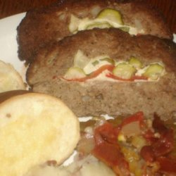 Pickle Stuffed Meatloaf