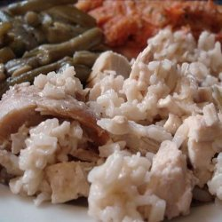 Easy Luncheon Chicken and Rice Casserole