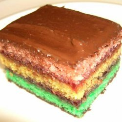 Italian Seven Layer Cookies (Tricolores)