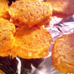 Cornmeal Carrot Skillet Cakes