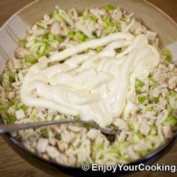 Hot Chicken Salad Sandwiches
