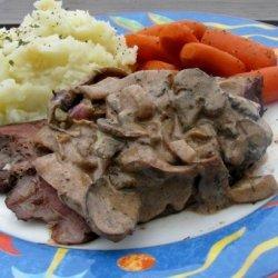 Stroganoff Roast Beef