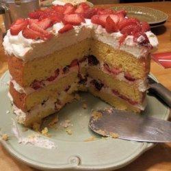 Strawberry Yum Yum Cake