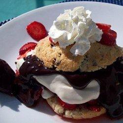 Chocolate-Covered Strawberry Shortcake