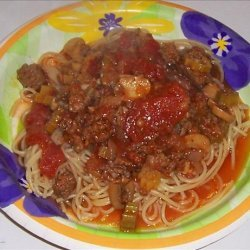 Mom's Cajun Spaghetti recipe