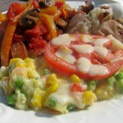 Colorful Corn & Veggie Casserole