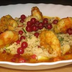 Moroccan Prawns With Couscous recipe