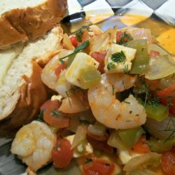 Greek-Style Shrimp With Tomatoes and Feta-America's Test Kitchen