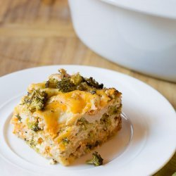 Chicken Broccoli Lasagna