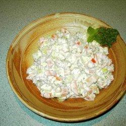 Yogurt, Cucumber and Mint Green Salad