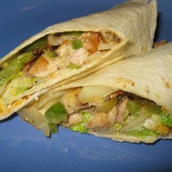 Veggie Wrap With Chicken