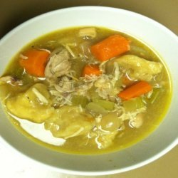 Southern-Style Slow Cooker Chicken and Dumplings
