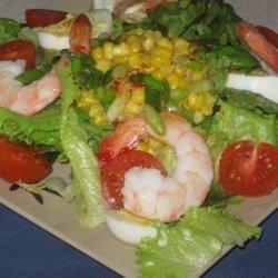Beach Bar Special - Aussie Seafood Salad