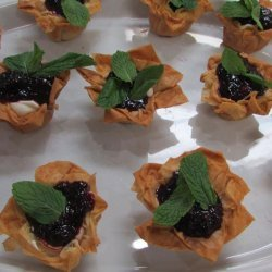 Cheesecake Phyllo Cups