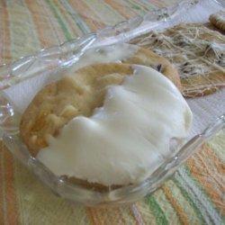 White Chocolate Cranberry Hazelnut Sugar Cookies