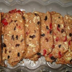Granmama's Uncooked (No Bake, No Cook) Fruitcake recipe