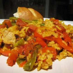 Spanish Rice With Peppers