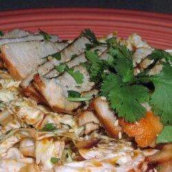 Thai Pork With Savoy Cabbage